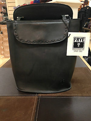 Frye Black Backpack
