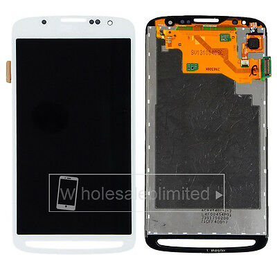 For Samsung Galaxy S4 Active i9295 i537 LCD Screen+Touch Glass Digitizer White