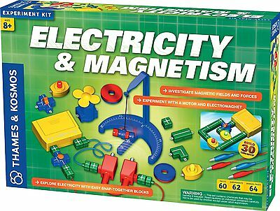 Thames and Kosmos 620417 Electricity & Magnetism Experiment Kit