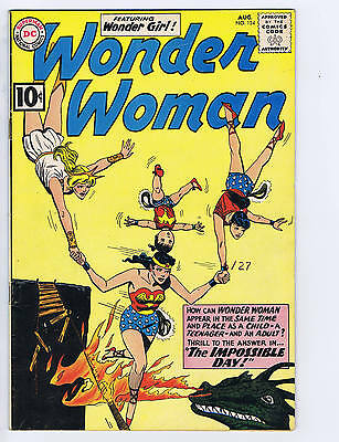 Wonder Woman #124 DC Pub 1961