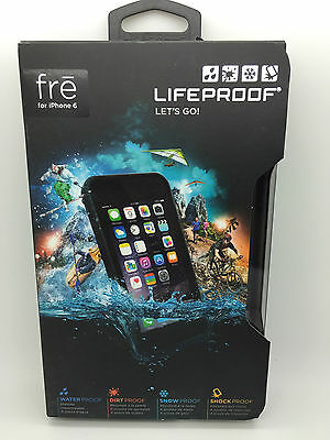 Authentic Lifeproof Fre Case For Apple iPhone 6 Waterproof 4.7 White Grey