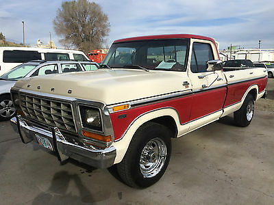 Ford : F-250 CAMPER SPECIAL BEAUTIFUL 1978 FORD F250 XLT CAMPER SPECIAL FACTORY AIR (WORKS) 460 AUTO! NO RES