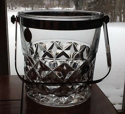 Cristal d'arques Ice Bucket Bleikristall Genuine Lead Crystal Made in France