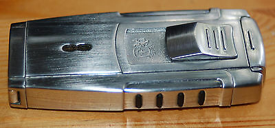 Colibri lighter-Cipher #4180-All stainless-