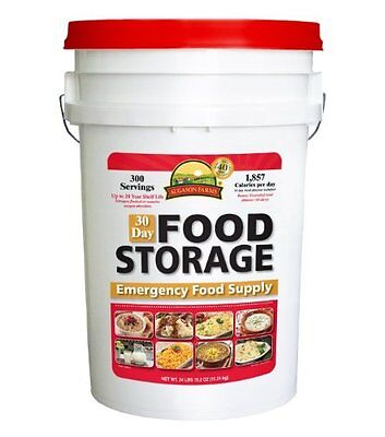Emergency 30 Day Food Supply 1 Person All In One Pail 20 Year Storage Shelf Life