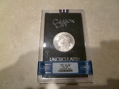 1883 CC S $1 GSA Hoard Morgan NGC MS 63 with VAM 5 or 5A Attributes
