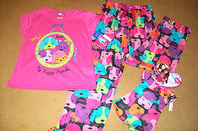 WHAT A DOLL/DOLLIE & ME 2PC DOGGIE PANT PAJAMA & pajama for AMERICAN GIRL DOLL