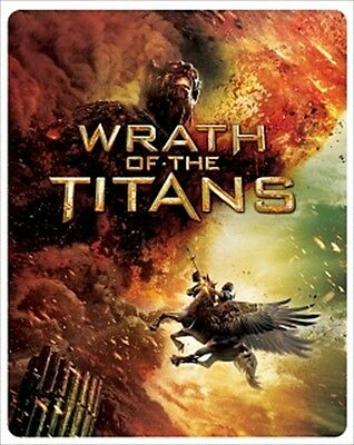 WRATH OF THE TITANS Blu-ray steelbooks Limited sales in Japan