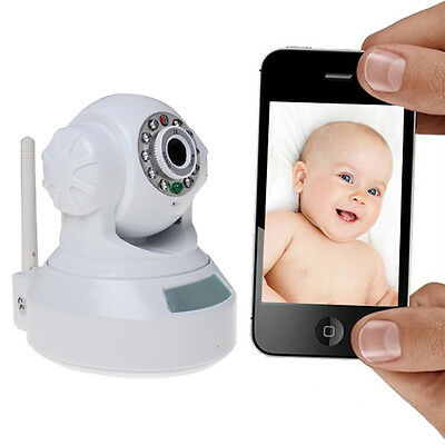 Plug-and-play user-friendly Wifi IP camera with QR scan code, smartphone view