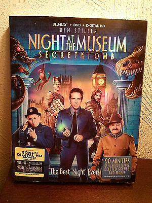 Night At The Museum:Secret Of The Tomb(Blu-Ray+DVD+Digital HD,UV)2-Disc Set,2015