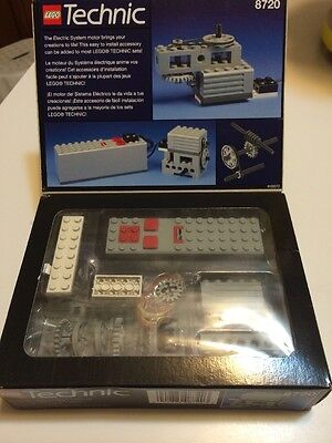 Vintage LEGO TECHNIC 8720 Power Pack Set NEW IN SEALED BOX! Electric Motor 9V