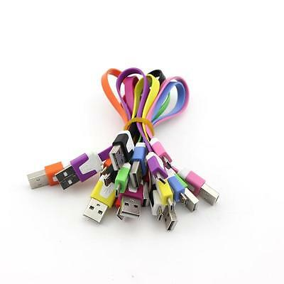 Mini Short Noodle USB Data Sync Charger Cable for Galaxy S4 S3 S2 S1 I9200 I9220