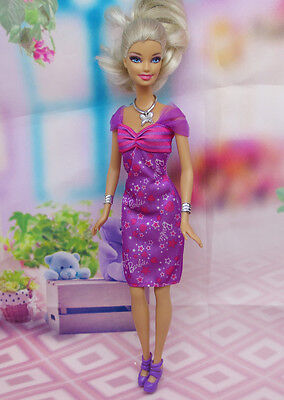 GORGEOUS Handmade The original clothes dress for barbies doll C336