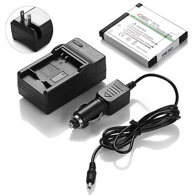 NB-8L NB8L Battery + Charger For Canon PowerShot A3300 A3200 A3100 A3000 A2200