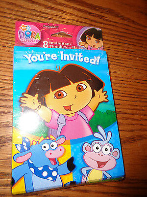 Dora the Explorer - Birthday Party Invitations & Thank You Notes - Nick Jr