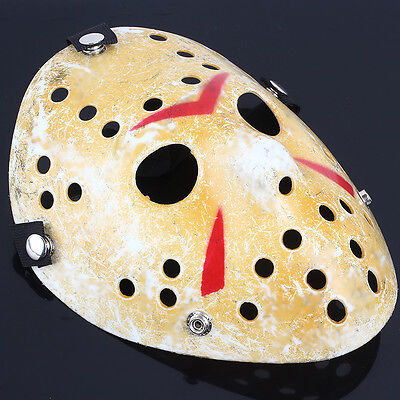 Classical Halloween mask Black Friday theater cosplay hockey mask Gold New