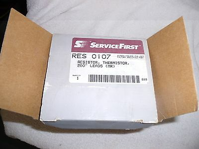 SERVICEFIRST  RES 0107 Resistor THERMISTOR  200'' LEARDS [MR] 2701-3628-01-07