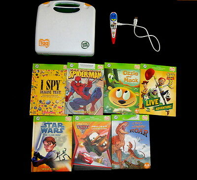 LeapFrog TAG Disney Toy Story 3 Special Ed Reading System  7  Books  Case Pen