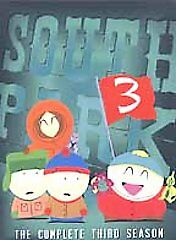 South Park - The Complete Third Season (DVD, 2003, 3-Disc Set, Checkpoint)