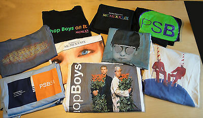 HUGE Lot of Pet Shop Boys Vintage Concert T Shirts, 10 in all-see photos!
