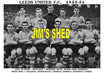 Leeds United F.c.team Prints X 30 (1927-1972)