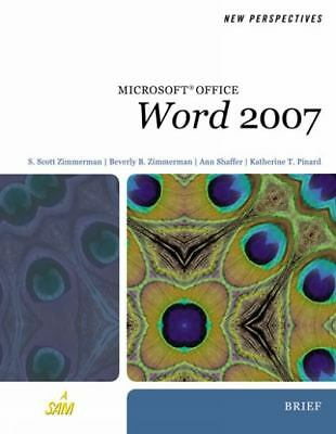 New Perspectives on Microsoft Office Word 2007, Brief (New Perspectives Series)