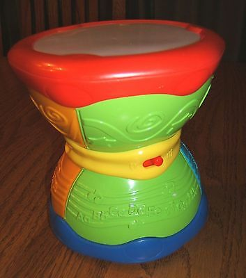 Leap Frog Learn & Groove Alphabet DRUM English Spanish Educational Bilingual