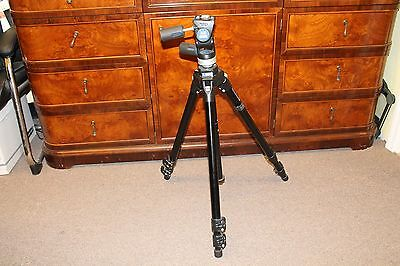 Manfrotto 3221 + 3030 Tripod Slightly used! Made in ITALY! $1 NR