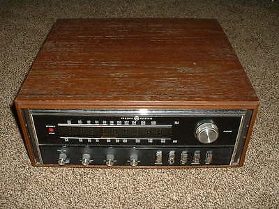 VINTAGE GENERAL ELECTRIC STEREO STAR RECEIVER MODEL C 151G FROM THE 60'S OR 70'S