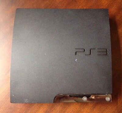 120gb Playstation 3 Console And Power Cord, Wont Read Discs