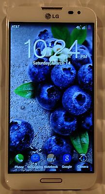 LG Optimus G Pro E980 White AT&T UNLOCKED LTE 32GB 13MP Phone Excellent