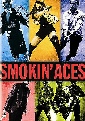 Smokin' Aces (DVD, 2007, Full Frame) Leading Role:Jeremy Piven, Ben Affleck Ray