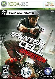 Tom Clancy's Splinter Cell: Conviction GAME (Xbox 360) **FREE SHIPPING!!
