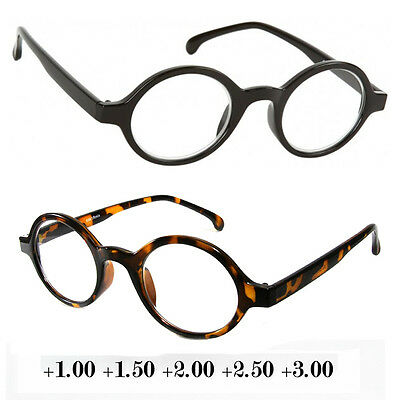 New Professor Vintage Retro Style Clear Reading Glasses Various Strength