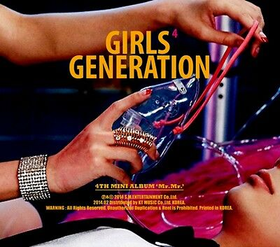 SNSD GIRLS' GENERATION Mr.Mr. 4th Mini Album Unsealed Like New K-POP