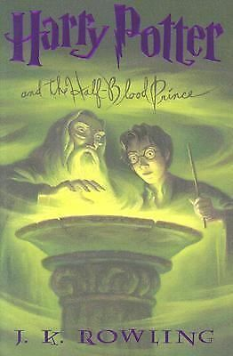 Harry Potter and the Half-Blood Prince 6 by J. K. Rowling (2005, Hardcover)