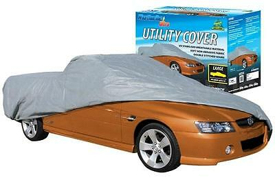 Car Cover Fits Utes up to 5.1m Commodore & Falcon WeatherTec Ultra Non Scratch