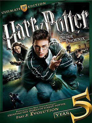 RARE Harry Potter and the Order of the Phoenix Three-Disc Ultimate Edition DVD