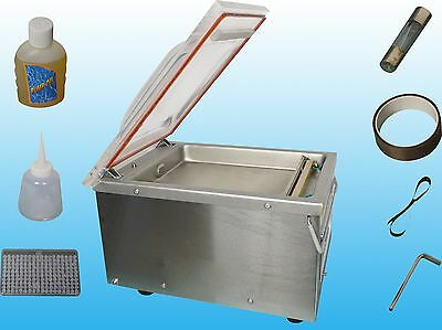 Commercial Chamber Vacuum Sealer Pack Packing Machine Semi-Automatic Package New