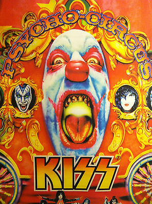 KISS Hard, Loud, Proud & Psycho circus poster wall hang 31 x 42  lot of 3
