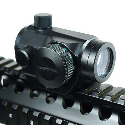 Stock New Holographic Rifle Red Green Dot Sight Scope 22mm Picatinny Rail Mounts