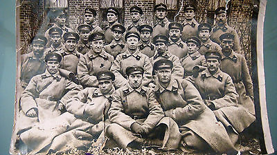 RUSSIAN SOVIET ARMY RKKA HIGH COMMANDERS COURSES OFFICERS GROUP REAL PHOTO 1927