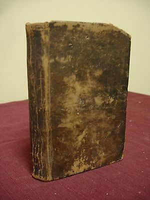 1819 Early American New Testament Bible 1st Edition - Boston - Chace Family