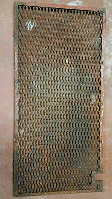 Coca Cola 1930s-40s Standard electric cooler rear cover***FREE SHIPPING***