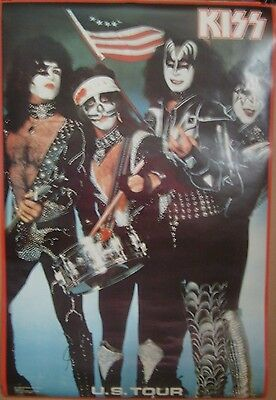 Kiss 76 Bicentennial U.S. Tour 1976 22x33 poster Lot Of 5