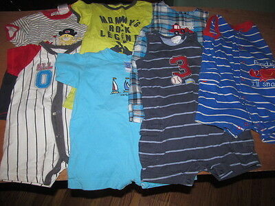 Baby Boy Lot of Romper SIZE 18 & 24 month / Spring-Summer
