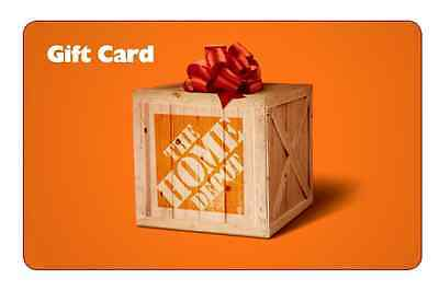 $200 Home Depot Gift Card and Free Shipping