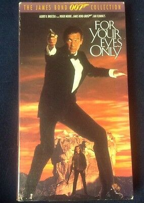 For Your Eyes Only (VHS 1981) Roger Moore
