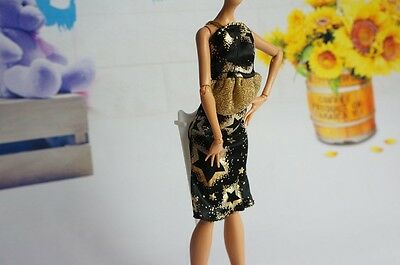 +A2014 hot high quality handmade nice clothes dress for Monster high dolls A1233