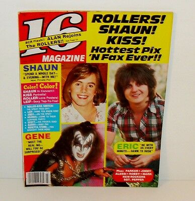 16 TEEN MAGAZINE JULY 1978 - W/ KISS THE BAY CITY ROLLERS ANGEL POSTER PINUP